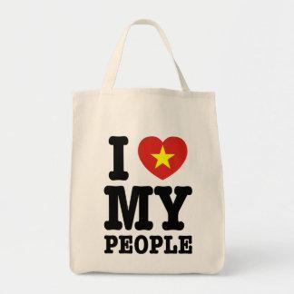 I Heart (Love) My Viet People Tote Bag