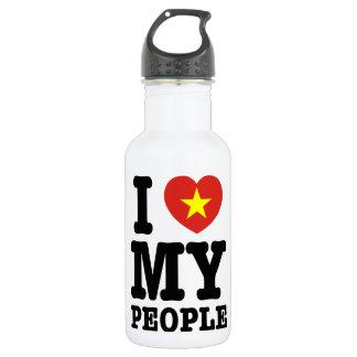 I Heart (Love) My Viet People Water Bottle