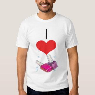 I Heart (Love) Nail Polish T Shirt