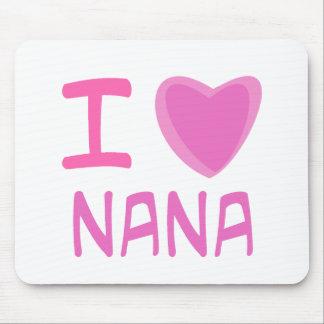 I Heart Love nana Mouse Mat