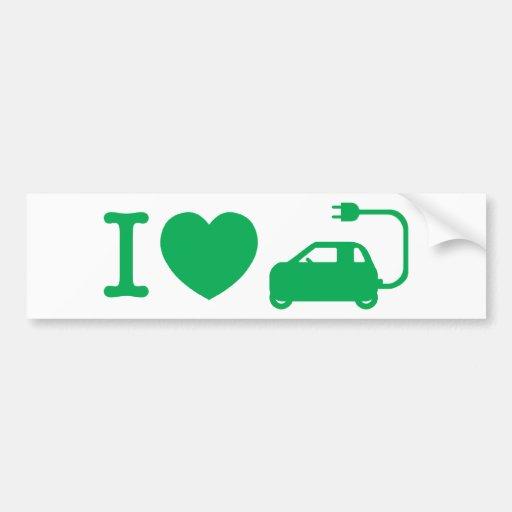 I Heart (Love) NEVs Bumper Sticker
