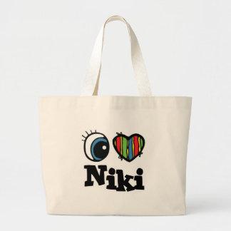 I Heart (Love) Niki Tote Bag