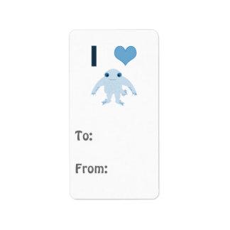 I heart (love) Ningen Label