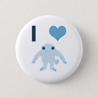 I heart (love) Ningen Pinback Button