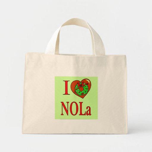 I Heart (Love) NOLA, Canvas Bag
