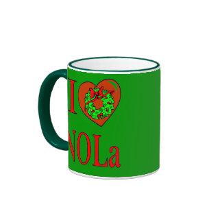 I Heart (Love) NOLA,, Ringer Mug