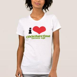 I Heart/ Love Oktoberfest - Drink Up T-Shirt