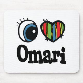I Heart (Love) Omari Mouse Pad