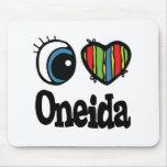 I Heart (Love) Oneida Mouse Pad