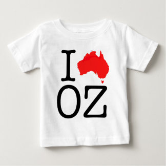 I Heart (Love) Oz Baby T-Shirt