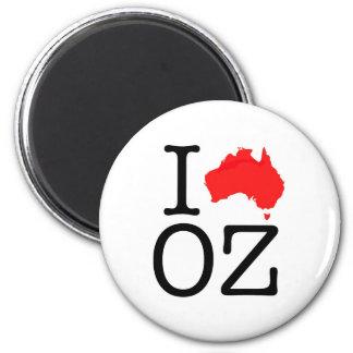 I Heart (Love) Oz Magnet