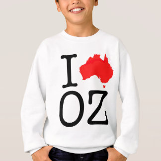 I Heart (Love) Oz Sweatshirt
