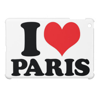 I Heart love Paris Cases For iPad Mini