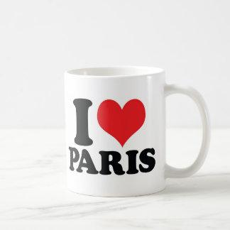 I Heart / love Paris Coffee Mug
