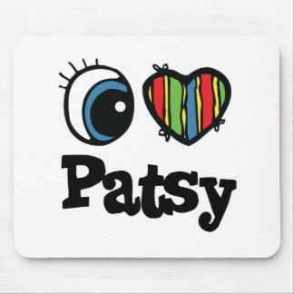 I Heart (Love) Patsy Mouse Pad