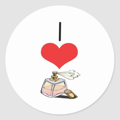 Show what you love with this cool and fun 'I Love Perfume ' design!