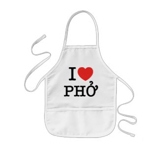 I Heart (Love) Pho Apron