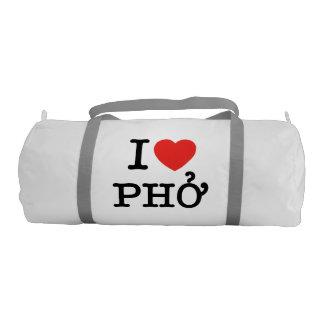 I Heart (Love) Pho Duffle Bag