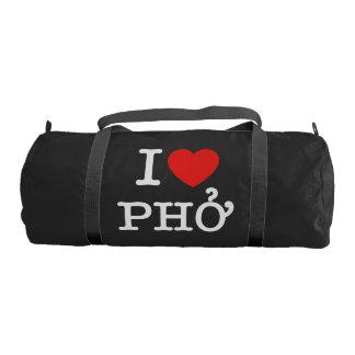I Heart (Love) Pho Gym Bag