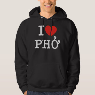 I Heart (Love) Pho Hoodie