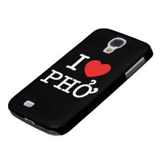 I Heart (Love) Pho Samsung Galaxy S4 Case