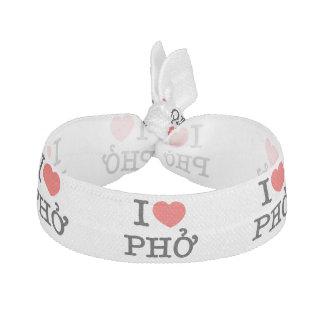 I Heart (Love) Pho Hair Tie
