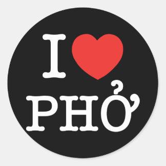 I Heart (Love) Pho Stickers