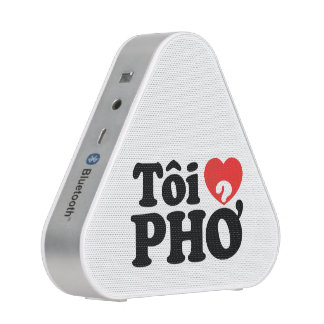 I Heart (Love) Pho (Tôi ❤ PHỞ) Vietnamese Language Bluetooth Speaker