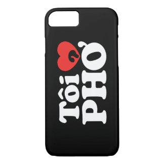 I Heart (Love) Pho (Tôi ❤ PHỞ) Vietnamese Language iPhone 8/7 Case