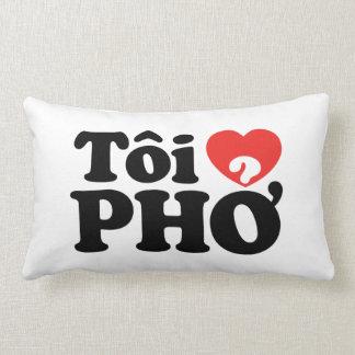 I Heart (Love) Pho (Tôi ❤ PHỞ) Vietnamese Language Pillows