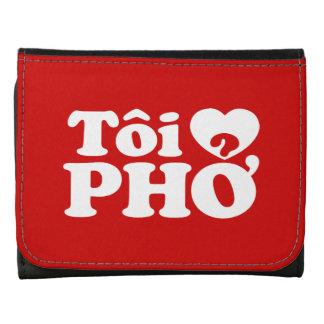 I Heart (Love) Pho (Tôi ❤ PHỞ) Vietnamese Language Trifold Wallet