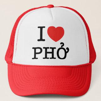I Heart (Love) Pho Trucker Hat