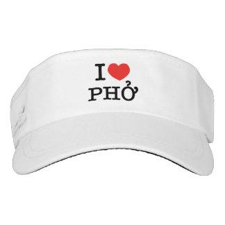 I Heart (Love) Pho Visor