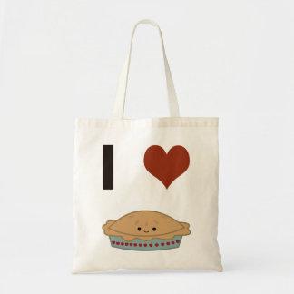 I heart (love) Pie Budget Tote Bag