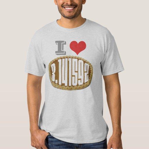 I (Heart) Love Pie T Shirt