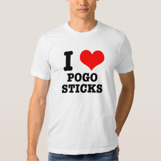 I HEART (LOVE) POGO STICKS SHIRT