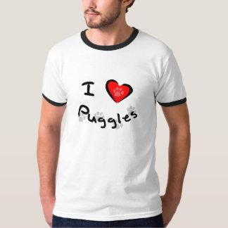 I Heart - Love Puggles T-shirt