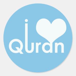 I heart (love) Quran Sticker