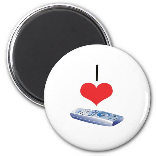 I Heart (Love) Remotes Fridge Magnets