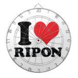 I Heart / love Ripon Dart Boards