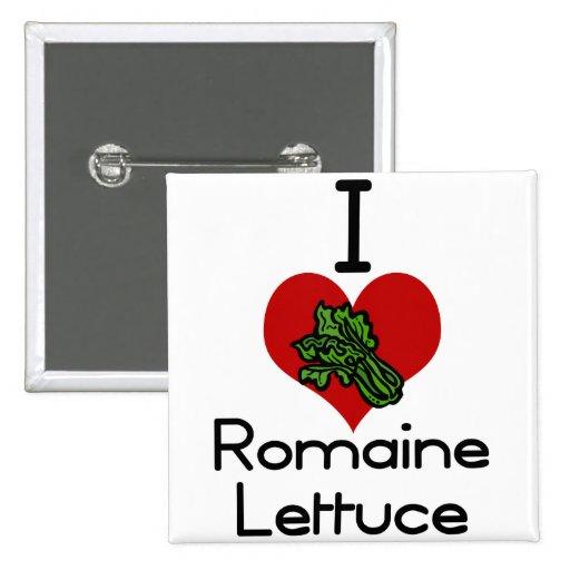 I heart-love romaine lettuce pins