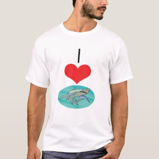I Heart (Love) Sharks T-Shirt