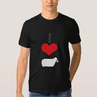 I Heart (Love) Sheep Tee Shirt
