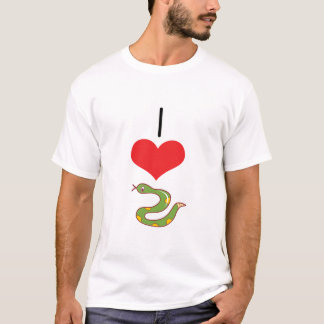 I Heart (Love) Snakes T-Shirt