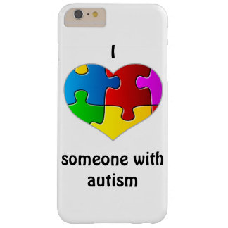 I heart [love] someone with autism iPhone 6+ Case Barely There iPhone 6 Plus Case