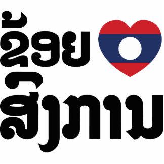 I Heart (Love) Songkan Laotian Language Cutout