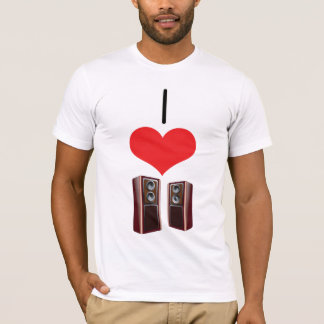 I Heart (Love) Speakers T-Shirt