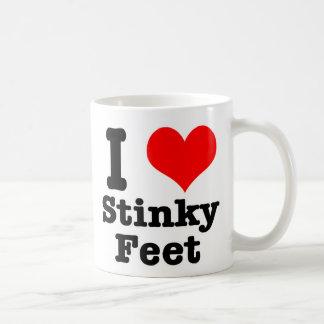 I HEART (LOVE) stinky feet Coffee Mug