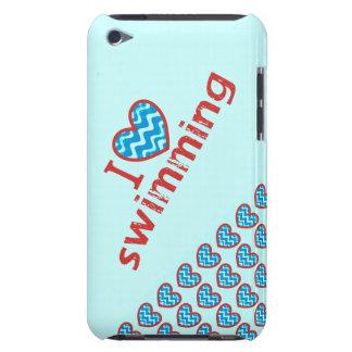 I heart (love) Swimming iPod Case-Mate Case