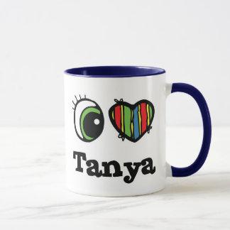 I Heart (Love) Tanya Mug